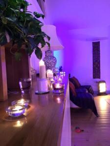 candlelit yoga 7